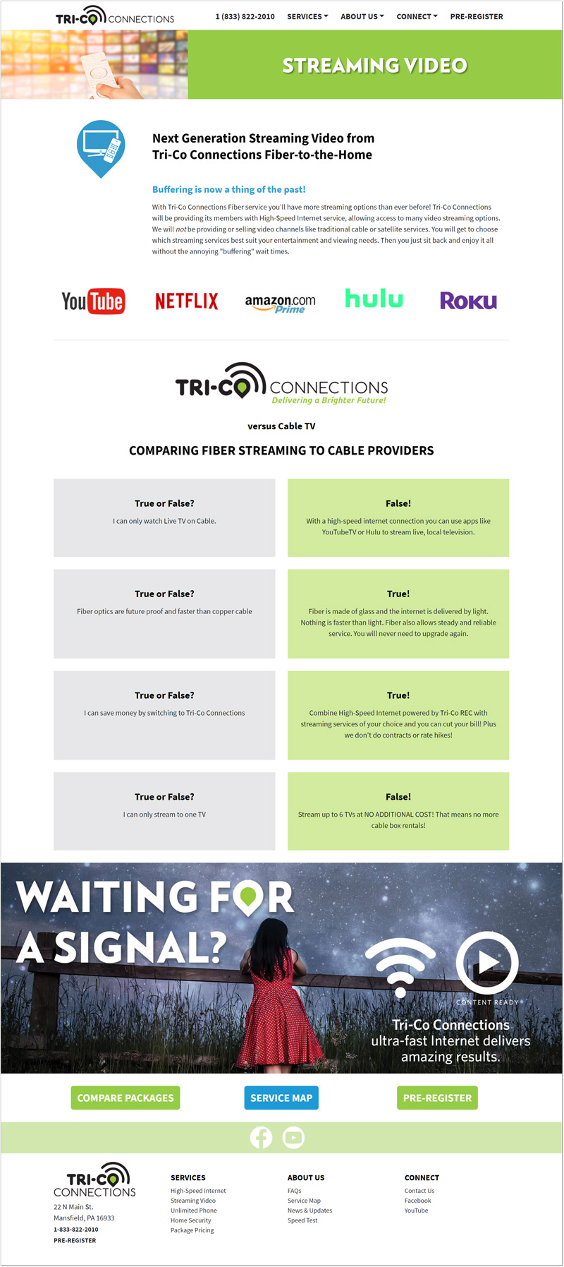 Tri-Co Connections Website